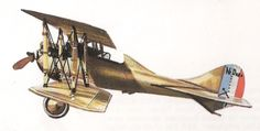 History of Airplanes - Nieuport-Delage 29