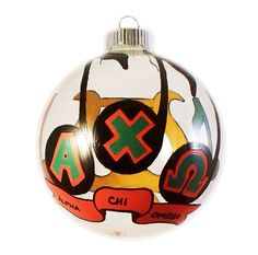 Alpha Chi Omega Holiday Ornament with Music by FMHCollectibles, $25.00