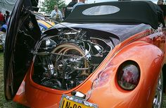 Custom VW Speedster with the courtesy of Ronald Hogenboom, Netherlands.
