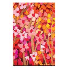 Mixed Pinks 2 Artwork by Anna Blatman