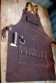 leather blacksmith apron handmade on commission fantasy custom style theleprechaun. Black Bedroom Furniture Sets. Home Design Ideas