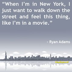 Quotes about New York City by famous (and not so famous) people: