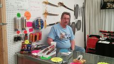Bob at Blake's Blades