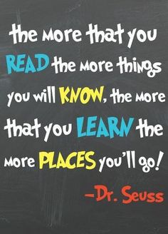 Dr Seuss quotes inspirational for kids adults.