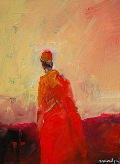 Red Magician #art #kunst