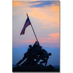 Trademark Fine Art Pinacle of Patriotism Canvas Wall Art by MCat, Size: 16 x 24, Multicolor