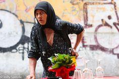 Gypsy Woman. Photo by Jolly Sienda, Venice, Italy.