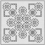 Resultado de imagem para Blackwork Stitch Embroidery