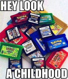 Hey look     My childhood
