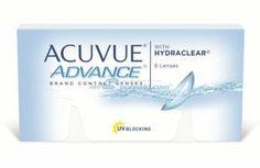 Soczewki kontaktowe Advance 6 szt. - soczewki dwutygodniowe, sferyczne Lenses, Personal Care, Self Care, Personal Hygiene