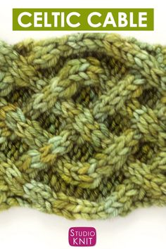 This intricate Celtic Cable Knit Stitch Pattern design is the beautiful Irish Saxon Braid. Get the free written pattern and knitting chart. knitting videos How to Knit the Celtic Cable Cable Knitting Patterns, Knitting Videos, Knitting Charts, Knitting For Beginners, Loom Knitting, Knitting Stitches, Free Knitting, Crochet Patterns, Vogue Knitting