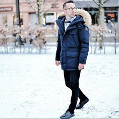We love this stylish take on our new Skidoo open jacket by @theparisianman. Merci à toi!