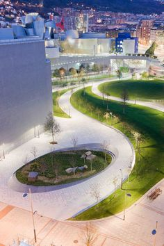 Bilbao Waterfront Masterplan and Urban Design  Balmori Associates  Bilbao, Spain