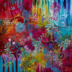 The Heron's Garden - Susan Farrell Art