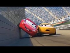 Cars 3 2 & 1 - WHO IS KING SPEED - Lightning McQueen Memorable Moments - YouTube