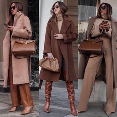 Winter Fashion Outfits, Fall Winter Outfits, Sweater Fashion, Autumn Winter Fashion, Monochrome Outfit, Monochrome Fashion, Mode Outfits, Casual Outfits, Look Blazer