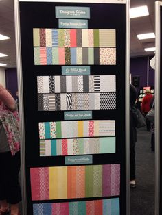 DSP Display Paper Board by Stampin' Up! Gold Coast Convention, 2015-2016 Stampin' Up! Annual Catalogue #stampinup
