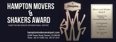 Congratulations, Hampton Inn Denver-International Airport – your guests have rated your service in the hotel industry as better than any other, and your excellent service has been recognized with the Hampton Movers & Shakers Award by Hilton.