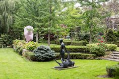 The Annual Shaw Guild Garden Tour on June 6 showcases eight spectacular secret gardens in the Old Town area of Niagara-on-the-Lake. Old Town, Garden Sculpture, Old Things, Tours, Outdoor Decor, Old City
