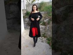 Crna haljina Shoulder Dress, Dresses, Fashion, Vestidos, Moda, Fashion Styles, Dress, Fashion Illustrations, Gown