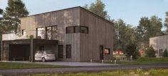 Bilderesultat for hus Garage Doors, Shed, Outdoor Structures, Outdoor Decor, Design, Home Decor, Patio, House, Decoration Home