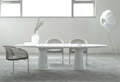 #Matteograssi Haussmann #table / #white