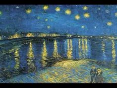 Gerry Mulligan - Night Lights (1963)    Vincent van Gogh - Starry Night (1888)    Gerry Mulligan - piano, baritone sax  Art Farmer - trumpet and fluegelhorn  Bob Brookmeyer - trombone  Jim Hall - guitar  Bill Crow - bass  Dave Bailey - drums  Vincent van Gogh - paintbrush
