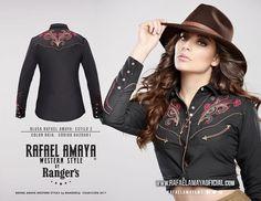 Conviértete en la mejor Vaquera con nuestra línea Rafael Amaya Western Style by Rangers! Ya la conoces? Visita nuestra página www.rangers.com.mx
