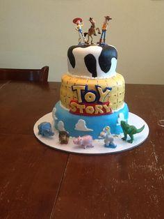 Birthday Cakes - Toy Story cake. Marshmellow fondant.