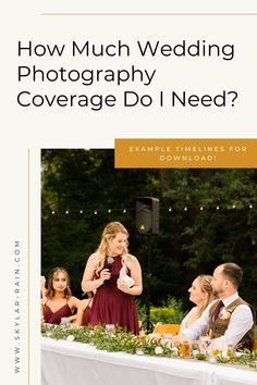 You're looking for a wedding photographer, but aren't sure how many hours of wedding photography you need. This blog post walks you through typical timing of a wedding day. Be sure to grab the free wedding day photography timelines at the bottom of the post to help with planning! Reception Games, Reception Activities, Rain Photography, Wedding Photography, Spring Wedding, Wedding Day, Wedding Timeline Template, Church Ceremony, Dance Photos