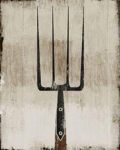 Vintage garden tools.