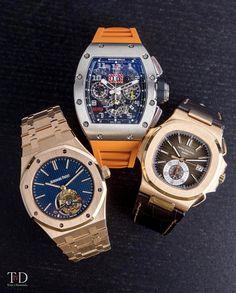 Audemars Piguet, Richard Mille or Patek Philippe ☘️ Luxury Watches, Rolex Watches, Cool Watches, Watches For Men, Audemars Piguet Diver, Engraved Jewelry Box, 4 Diamonds, Limited Edition Watches, Hand Watch