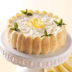 Easy Lemon Ladyfinger Dessert Recipe