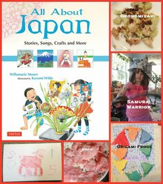 Crafty Moms Share: All About Japan By Willamarie Moore -- Book Review