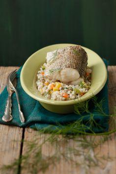 Hecht mit Gemüsegerste I © GUSTO / Theresa Schrems I www.gusto.at