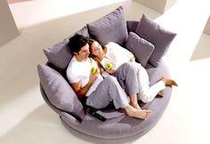 Home Design Ideas ? Home Design Decorating ? Home Furniture Home Design Ideas - Home Design Decorating - Home Furniture Cuddle Couch, Sofa Couch, Grey Loveseat, Couches, Cozy Chair, Comfy Sofa, Comfy Reading Chair, Unique Sofas, Contemporary Sofa