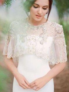 Tendencias de boda 2017: Vestidos de novia con capa [FOTOS]   (10/41)   Ellahoy