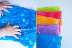 Сенсорные мешочки с гелеобразной жидкостью | Baby journal