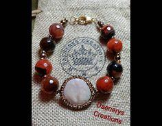 Guarda questo articolo nel mio negozio Etsy https://www.etsy.com/it/listing/506832645/bracciale-agata-ematite-perla-di-fiume