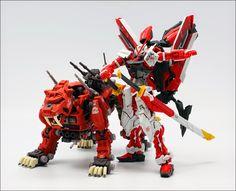 MG 1/100 Gundam Astray Red Frame Kai w/ ZOIDs