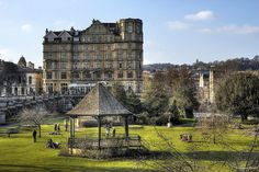 The Empire Hotel, Bath, England. I always read about this in my 18th century literature books!