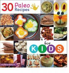 30 Paleo Recipes for Kids