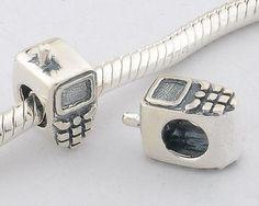 CLFJ158 925 Sterling Silver Cellphone Pandora Charms beads Jewelry Pandora House
