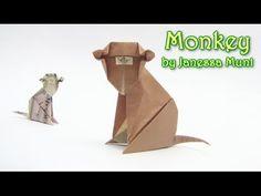 how to make money origami monkey wie man Geld Origami-Affen zu machen comment faire de l'argent origami singe como fazer macaco dinheiro origami cómo hacer e...