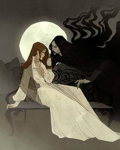 Dracula Illustrations by Abigail Larson Character Inspiration, Character Art, Character Design, Arte Horror, Horror Art, Dark Fantasy Art, Dark Art, Gothic Kunst, Yuumei Art