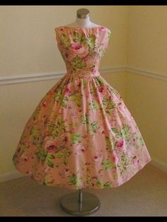 This dress makes me want to have a tea party