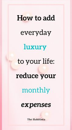 Best guide to be able to afford everyday luxury! This is how you can reduce your monthly expenses and start enjoying life guilt free! money saving ideas | organize finances | personal finance blog | smart money | intentional living Fixed Cost, How To Become Smarter, Life Values, Monthly Expenses, Best Savings, Finance Organization, Enjoying Life, Finance Blog