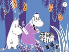 Moomin and the Lost Belongings / Muumilaakson kadonneet tavarat / 姆米谷遗失的物品… Moomin Valley, Tove Jansson, Kids Story Books, Best Apps, Little My, A Comics, Finland, Geek Stuff, Creatures