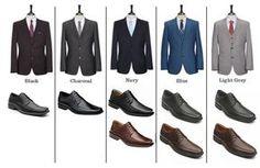 combinacion de zapato de hombre con traje - Buscar con Google