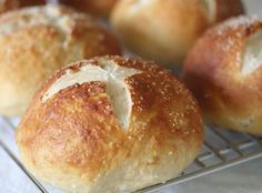 Pretzel Bread.. just had this at Cooper's Hawk last night for Valentine's day... THE best ever